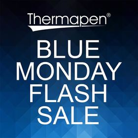 According to research, tomorrow is known as #bluemonday. Everyone is tired after Christmas and feeling a little deflated. To beat the blues, we're offering a fantastic 25% OFF our BLUE Thermapen Professional or Classic thermometer, also with a FREE pair of tongs! Ends midday 22.01.19. https://thermapen.co.uk/ . . . . #bluemonday #sale #discount #january #discount #flashsale #thermometer #temperature #thermometer #madeinbritian #1000makers #nomnom #eeeeeats #foodhygiene #sunday #cookedtoperfection #foodblogger #thefeedfeed #catering #bbq #cookingram #chef