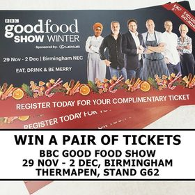 Fancy winning a pair of tickets to the Winter BBC Good Food Show in Birmingham? We're giving away 5 pairs this weekend and 5 pairs next weekend! To enter simply let us know who you'd take with you in the comments and follow us. Ends midnight 14/10/18. Open to UK residents only. Saturdays excluded from tickets. . . . . . #BBCGFS #competition #birmingham #necbirmingham #exhibition #thermapen #thermometer #IsItCooked #eatwelllivewell #temperature #foodie #foodphotography #foodbloggers #madeinbritian #eeeeeats #madeinbritian #winter #foodie