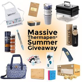 It's that time of year again...🙌😀 We're so pleased to welcome back our Thermapen Massive Summer Giveaway! To enter simply answer one question and you could win a fantastic prize bundle worth over £300! Perfect for an eco-friendly picnic this prize includes: Thermapen Professional and Accessories, @thesmokeycarter BBQ Rub Tube, @ecoflaresfirelighters box of 200 lighters, Weber 'Go Anywhere' BBQ, Stylish Cool Bag, Bamboo Lunchbox, Reusable Picnic Cups, @beeswrap Reusable Beeswax Wraps, Thermapen Chilly's Bottle, @swellbottle reusable straws and Ice Blocks! LINK IN BIO. . T&Cs: One winner will be chosen . Giveaway will close on Wednesday 26th June 2019 at midnight. Open to UK residents only. Must be over 18 to enter. This giveaway is not endorsed, sponsored or otherwise related to Instagram. . . . . #bbq #bbqlover #weberbbq #bbqrubs #bbqfirelighetrs #ecofriendly #reusable #nosingleuseplastic #reusablestraws #beeswaxwraps #summertime #bigsummergiveaway #giveaway #competition #Thermapen #Meat #Thermometer #Temperature #instafood #foodporn #foodie #foodphotography #foodbloggers #britishmade #madeinbritian