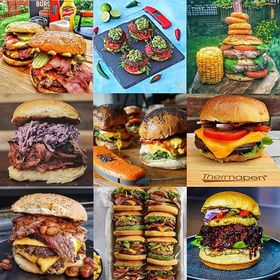 It's #NationalBurgerDay – hurray! We're sharing a little inspiration for you from some of the best in the burger biz… . . . . . . . #burger #burgerholic #bbqbrave #thermapen #cookedtoperfection #bbq #bbqporn #cheeseburger #baconburger #beefburger #chickenburger #bbqlover #britishbbq #bbqburger #thermometer #temperature #madeinbritain #bbqexpert #bbqtips #bbqhacks #burgerheaven #bbqtips