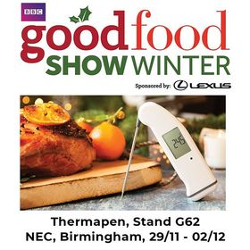 Not long now until the @bbcgoodfoodshow at the NEC, Birmingham! We're very excited to meet everyone and show off our Thermapen! :) . . . . #ETI #Thermapen #IsItCooked #exhibition #goodfoodshow #BBCGFS #BBC #BBCGoodFoodShow #Food #Stand #Thermometer #Temperature #Thermapen4 #dailyfoodfeed #nomnom #foodie #eatstagram #cookingperfection